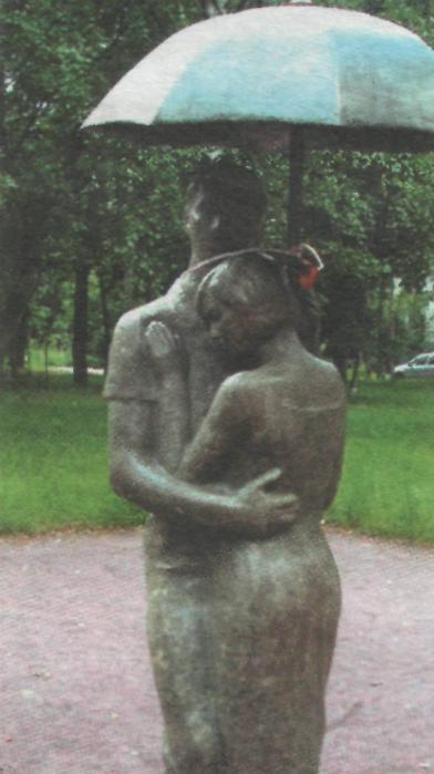 Памятник любви Карла и Эмилии в Санкт-Петербурге